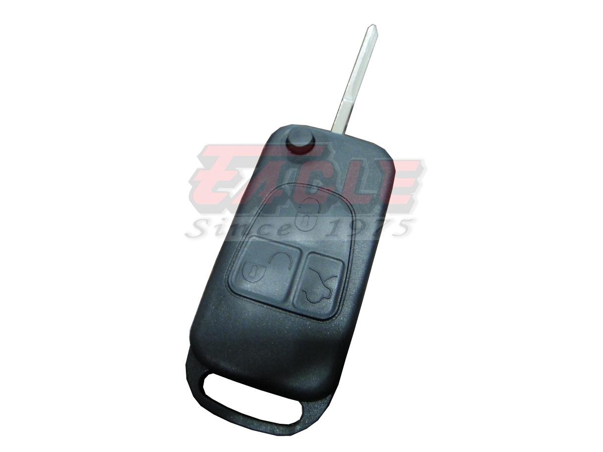 Mbeks000530 mercedes benz 3 button das2 flip remote shell for Mercedes benz locksmith